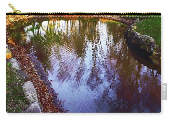 Autumn Reflection Pond Carry-all Pouch