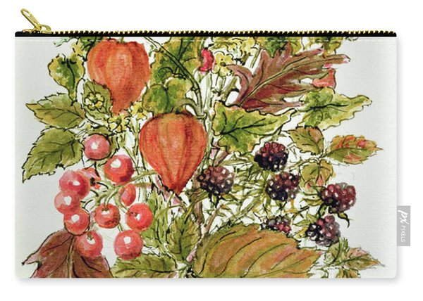 Autumn Posy Carry-all Pouch