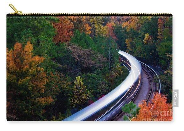 Autumn Rails Carry-all Pouch