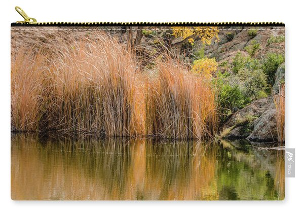 Autumn Reflection At Boyce Thompson Arboretum Carry-all Pouch