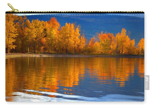 Autumn Reflections At Sunoka Carry-all Pouch