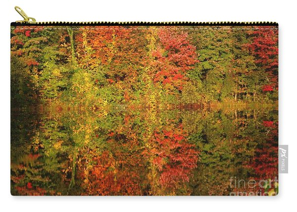 Autumn Reflections In A Pond Carry-all Pouch