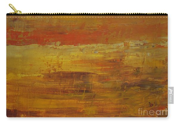 Carry-all Pouch featuring the painting Autumn Reflections by Jimmy Clark