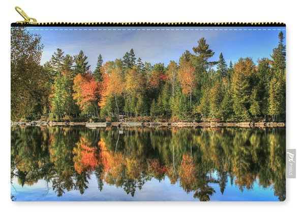 Autumn Reflections Of Maine Carry-all Pouch