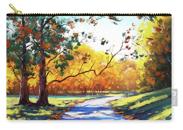 Autumn Road Mt Wilson Carry-all Pouch