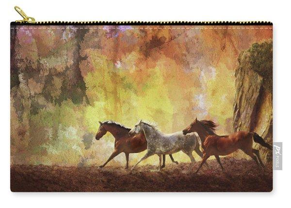 Autumn Run Carry-all Pouch
