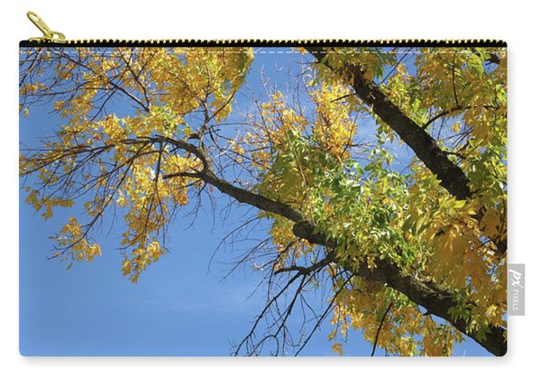 Autumn Sky Trails Carry-all Pouch