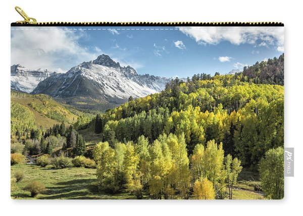 Autumn Snow On Sneffels Carry-all Pouch