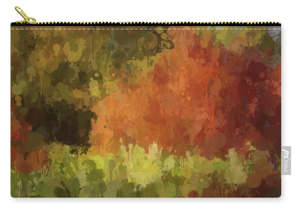 Autumn Splash Carry-all Pouch