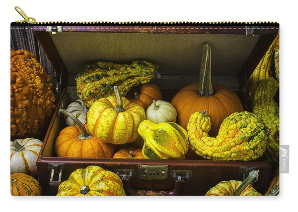 Autumn Suitcase Carry-all Pouch