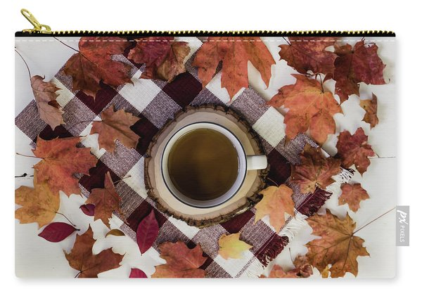 Autumn Tea Time Carry-all Pouch