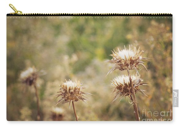 Autumn Thistles Carry-all Pouch