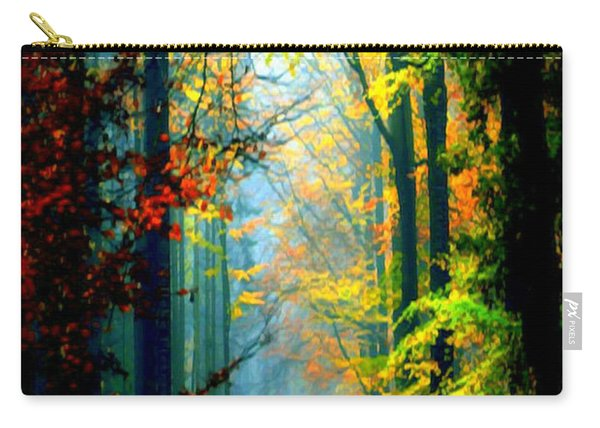Autumn Trails In Georgia Carry-all Pouch