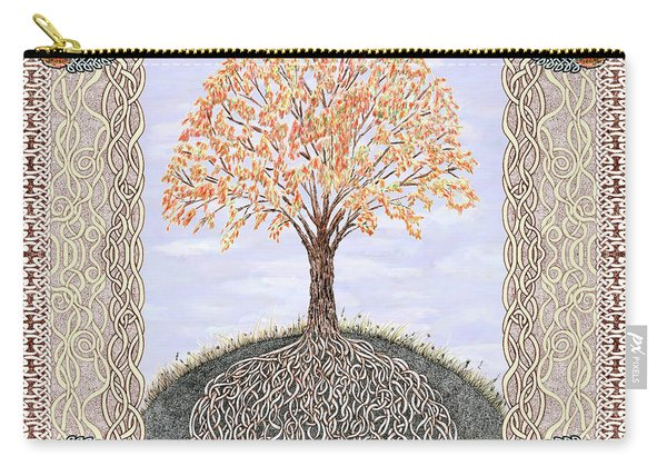 Autumn Tree Of Life Carry-all Pouch