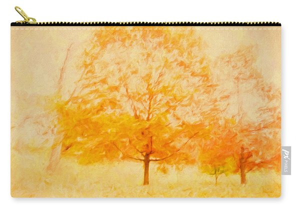 Autumn Trees Abstract Carry-all Pouch