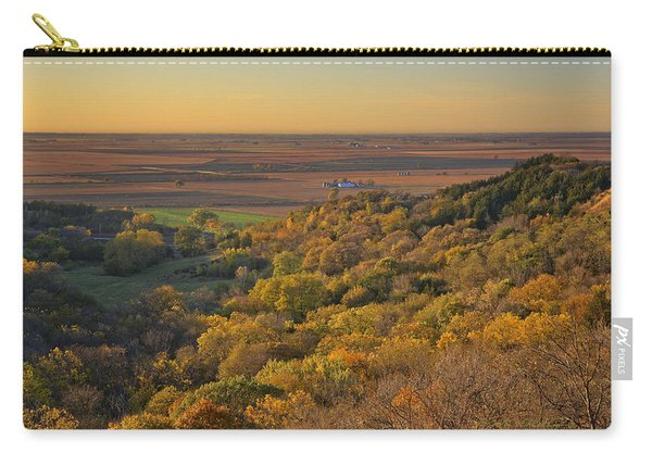 Autumn View At Waubonsie State Park Carry-all Pouch