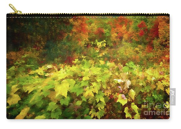 Autumn Watercolor Carry-all Pouch