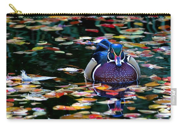 Autumn Wood Duck Carry-all Pouch