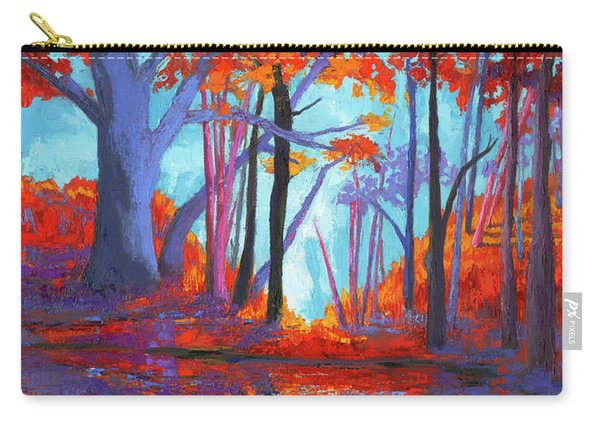 Autumnal Landscape, Impressionistic Art Carry-all Pouch