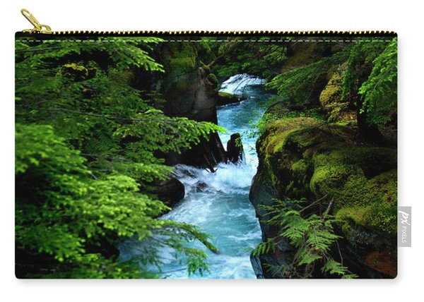 Avalanche Creek Waterfalls Carry-all Pouch