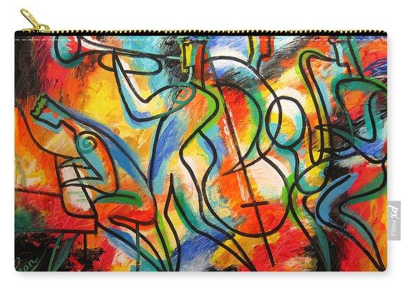 Avant-garde Jazz Carry-all Pouch