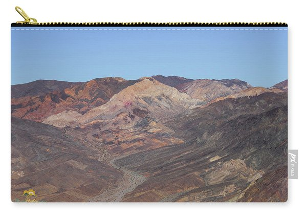 Carry-all Pouch featuring the photograph Avawatz Mountain by Jim Thompson