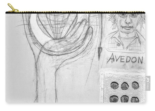 Avedon Master Of The Lens Carry-all Pouch