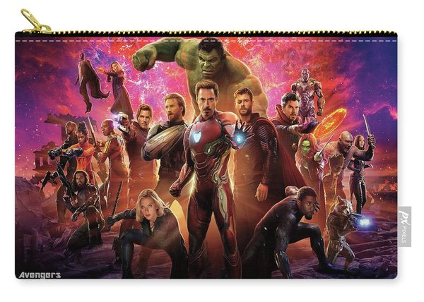 Avengers Infinity War Carry-all Pouch