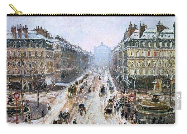Avenue De L'opera - Effect Of Snow Carry-all Pouch