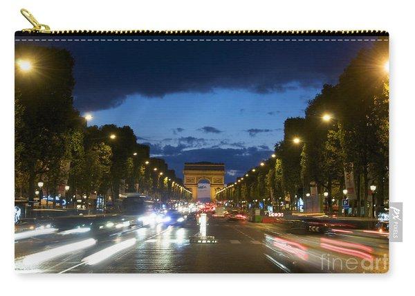 Avenue Des Champs Elysees. Paris Carry-all Pouch