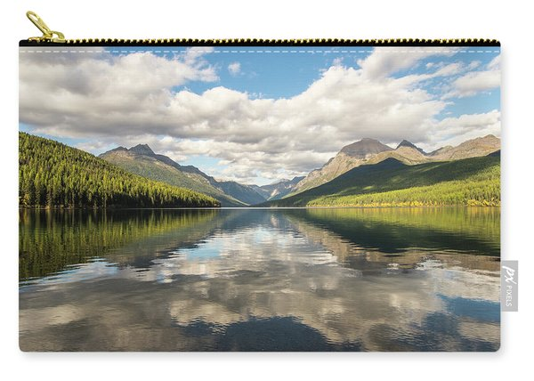 Avenue To The Mountains Carry-all Pouch