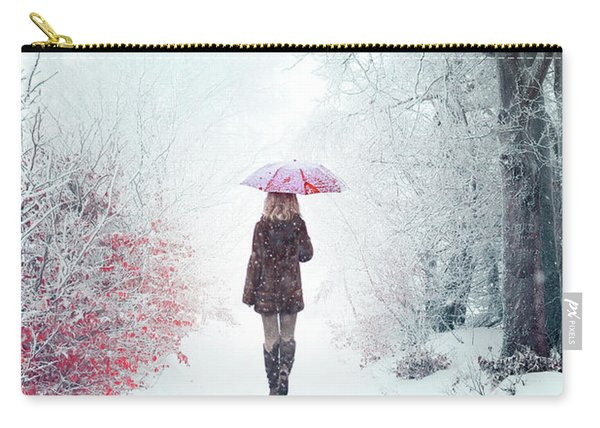 Awaken Into Winter Carry-all Pouch