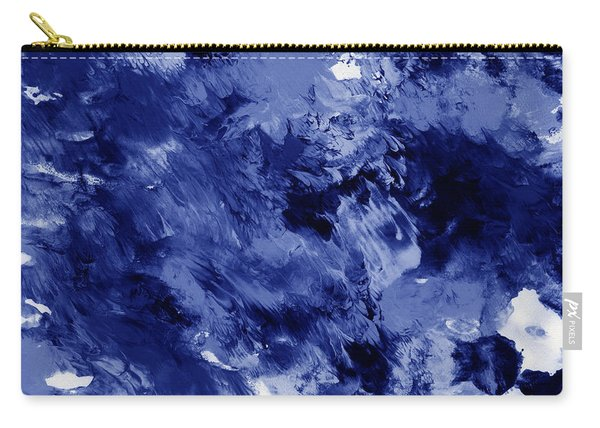Awakened Sky- Abstract Art By Linda Woods Carry-all Pouch