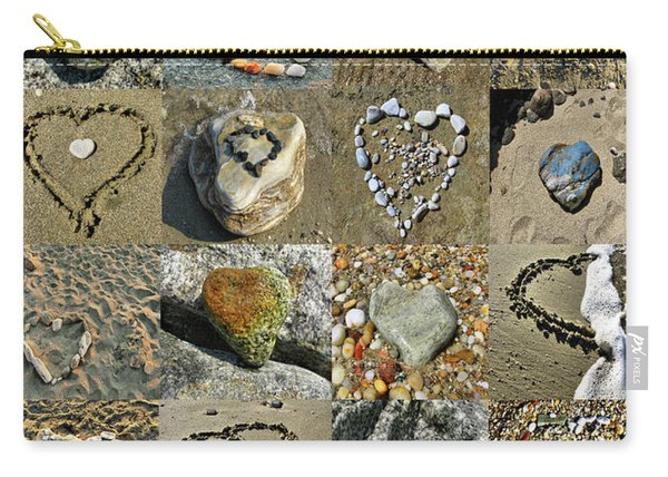 Awesome Hearts Found In Nature - Valentine S Day Carry-all Pouch