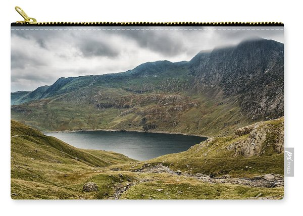 Carry-all Pouch featuring the photograph Awesome Hike by Nick Bywater