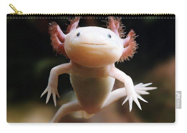 Axolotl Face Carry-all Pouch