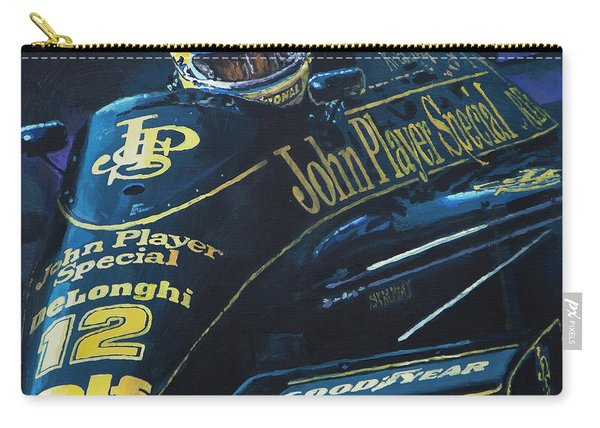 Ayrton Senna Lotus 98t1986 01 Carry-all Pouch