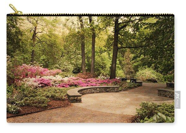 Azalea Garden Carry-all Pouch