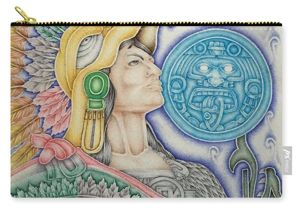 Aztec Warrior Carry-all Pouch