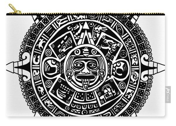 Aztecs Calendar Carry-all Pouch
