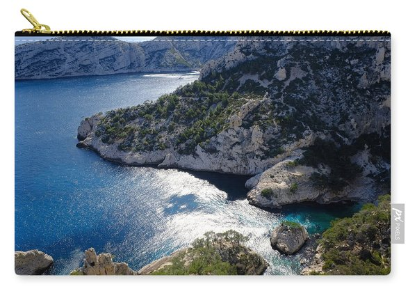 Azure Calanques Carry-all Pouch