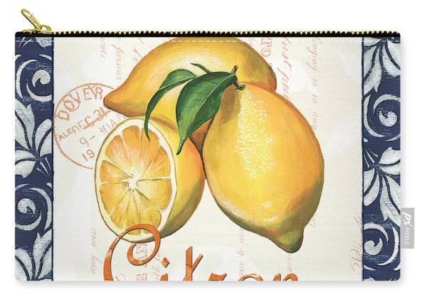 Azure Lemon 2 Carry-all Pouch