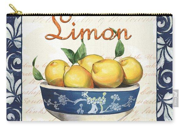 Azure Lemon 3 Carry-all Pouch