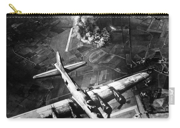 B-17 Bomber Over Germany  Carry-all Pouch