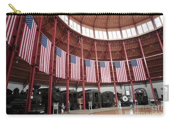 B And O Museum Roundhouse In Baltimore Maryland Carry-all Pouch