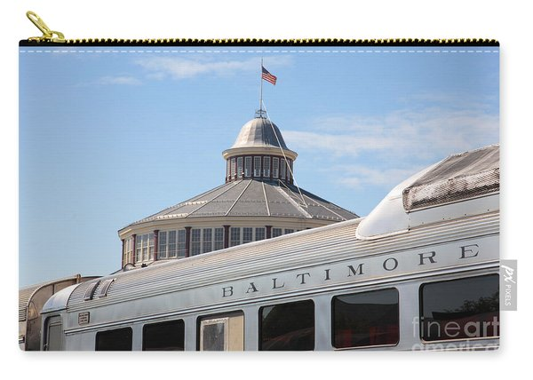 B And O Railroad Museum In Baltimore Maryland Carry-all Pouch
