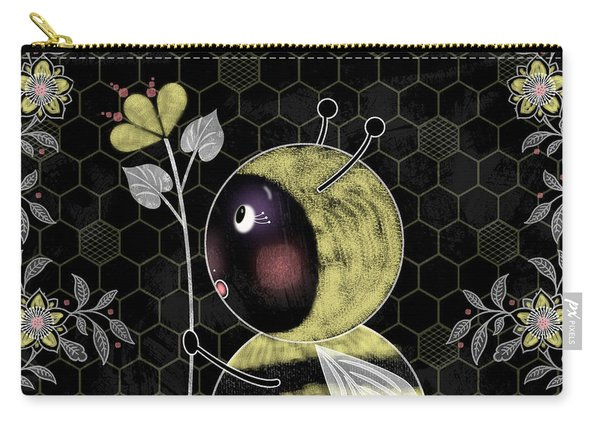 B Is For Bumble Bee Carry-all Pouch