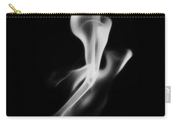 B/w Flame 0242 Carry-all Pouch