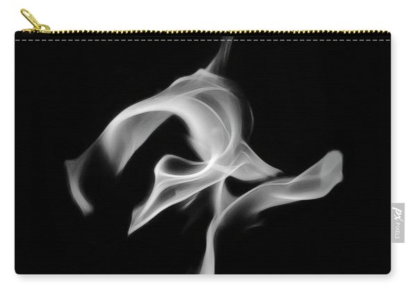 B/w Flame 0456 Carry-all Pouch