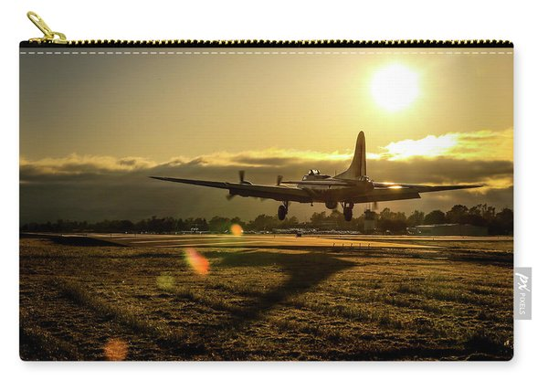 B17 Landing At Livermore Carry-all Pouch